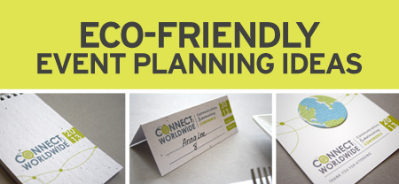 eco-friendly event planning ideas