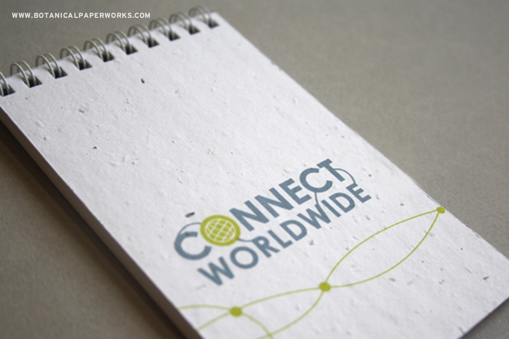 Seed Paper Notepads from Botanical PaperWorks