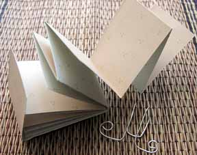 Easy Fold Book - craft project and complete instructions