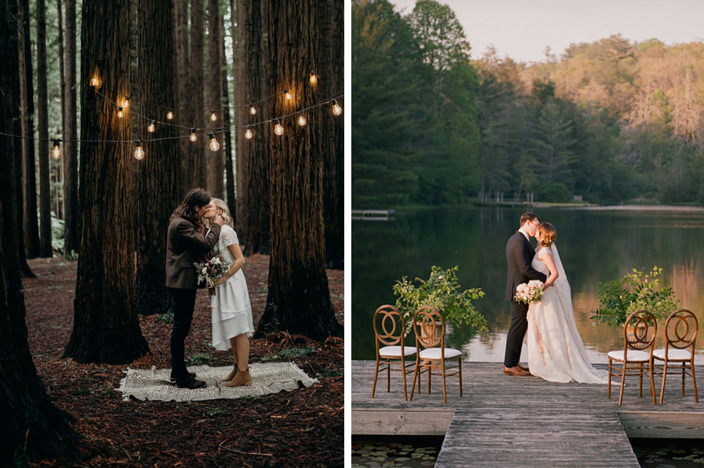 elopement planning during coronavirus and decor inspiration