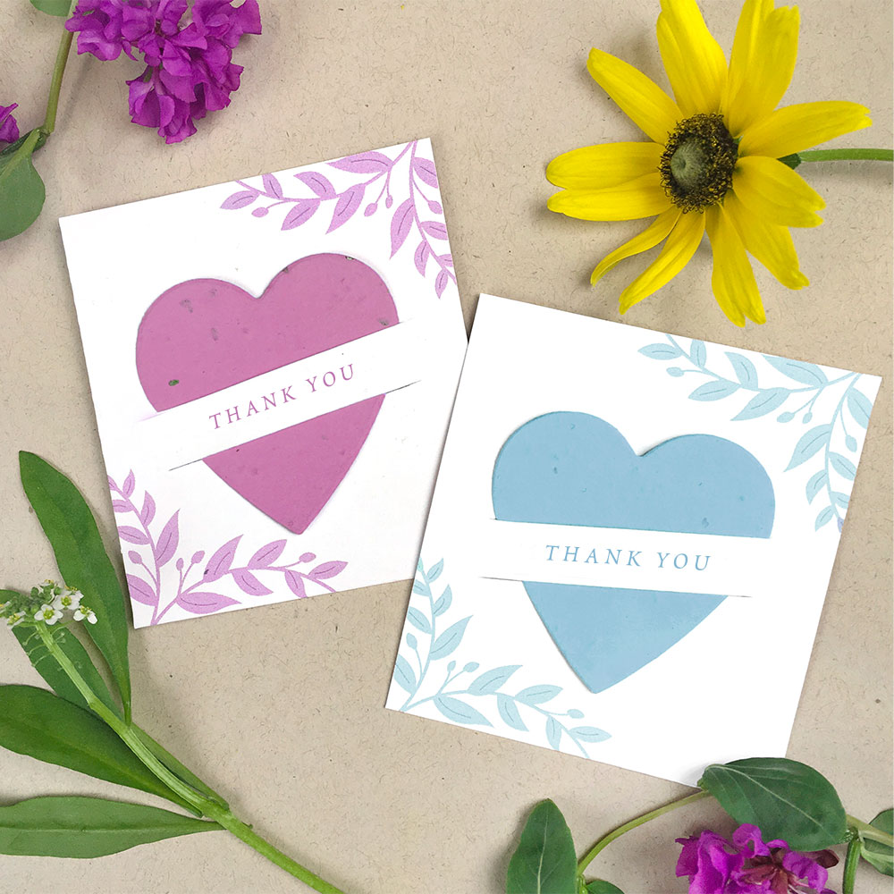 Personalize these adorable Mini Slot Card Party Favor for your next party. They'll share your custom message and wildflowers!