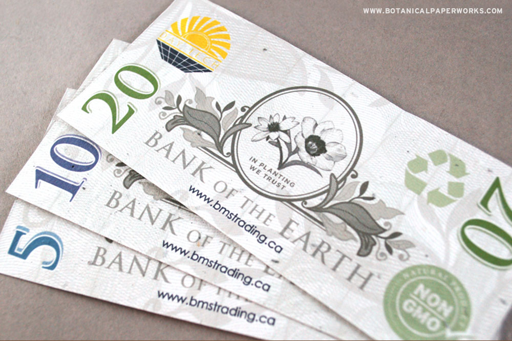seed paper money
