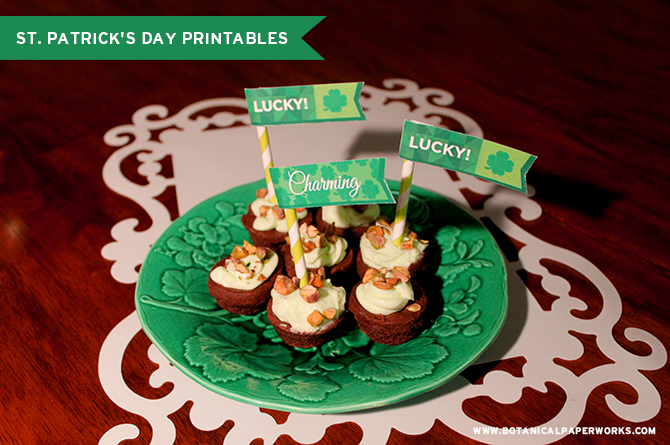 St. Patricks' Day free printable